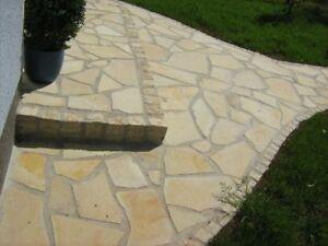 naturstein terrassenplatten polygonalplatten poolplatten. Black Bedroom Furniture Sets. Home Design Ideas