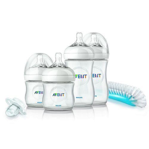 Avent Newborn Leak Free Easy To Clean Bottle Starter Kit Classic