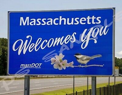 Massachusetts Travel Souvenir Flexible Fridge Magnet CAPE COD