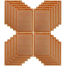 1020 Pcs Single Side 5x7cm Pcb Strip Board Printed Circuit Prototype Track Lw