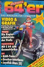 64er (64´er) 10/92 Oktober 1992 C64 Commodore (Video & Grafik, Pool of Radiance)