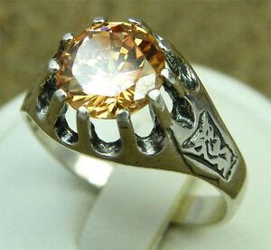 Lovely-Synth-Zirconia-amp-Silver-Designer-Ring-ERG0422-O