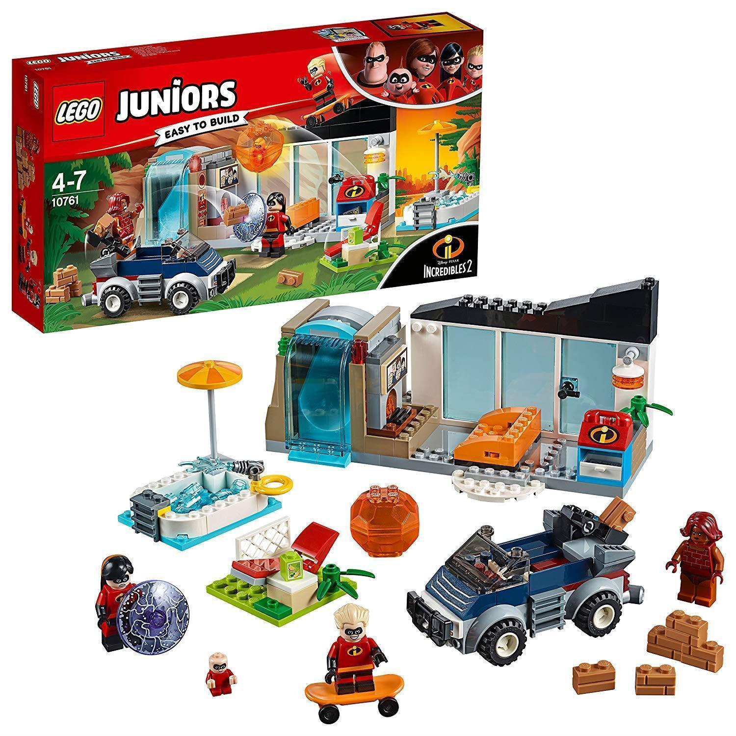 LEGO UK 10761 IncROTibles 2 Great Home Escape Set