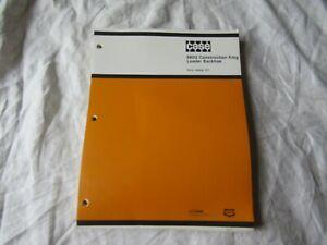 Details about CASE 680 680G tractor loader backhoe parts catalog book manual