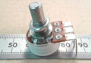 Vertical PCB Mount T18 Splined Shaft Log Pot 16mm Logarithmic Potentiometer VT18