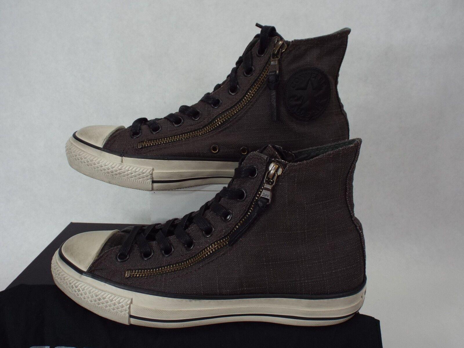 Homme 8.5 CONVERSE John Varvatos CT HI Double Zip Dark Olive Chaussures 2018 150167C