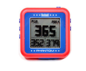 Bushnell Golf Phantom GPS. Red. Pre-Loaded with 36,000 courses in 30 countries