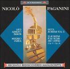 Paganini: Lucca Sonatas, Vol. 2 (CD, Jan-2000, Dynamic (not USA))