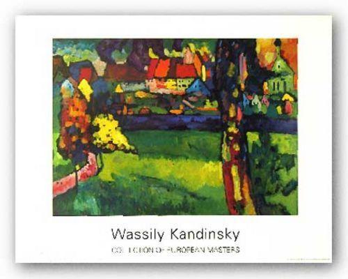 MUSEUM ART PRINT Murnau 1909 Wassily Kandinsky