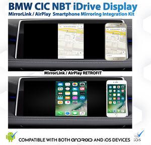 Details about BMW CIC NBT iDrive AirPlay MirrorLink Smartphone Mirroring  retrofit Kit