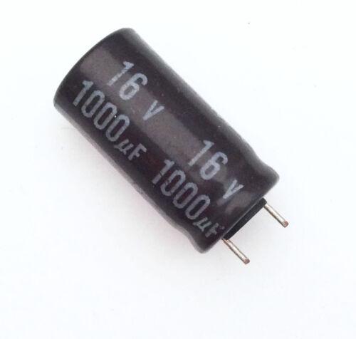 Condensatore Elettrolitico 1000uF 16V 105°C Radiale 10x20mm