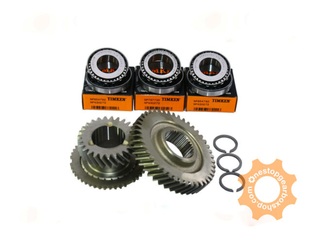 M20 Genuine 6th Gears 27//44 Teeth TIMKEN End Case Bearings and Circlips M32