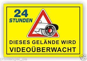 Schild-Gelaende-videoueberwachung-videoueberwacht-video-Hinweisschild-Kamera-Vi56
