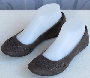 6-5-Merrell-Mimix-Joy-Women-Brown-Perfed-Nubuck-Leather-Slip-On-Ballet-Flat