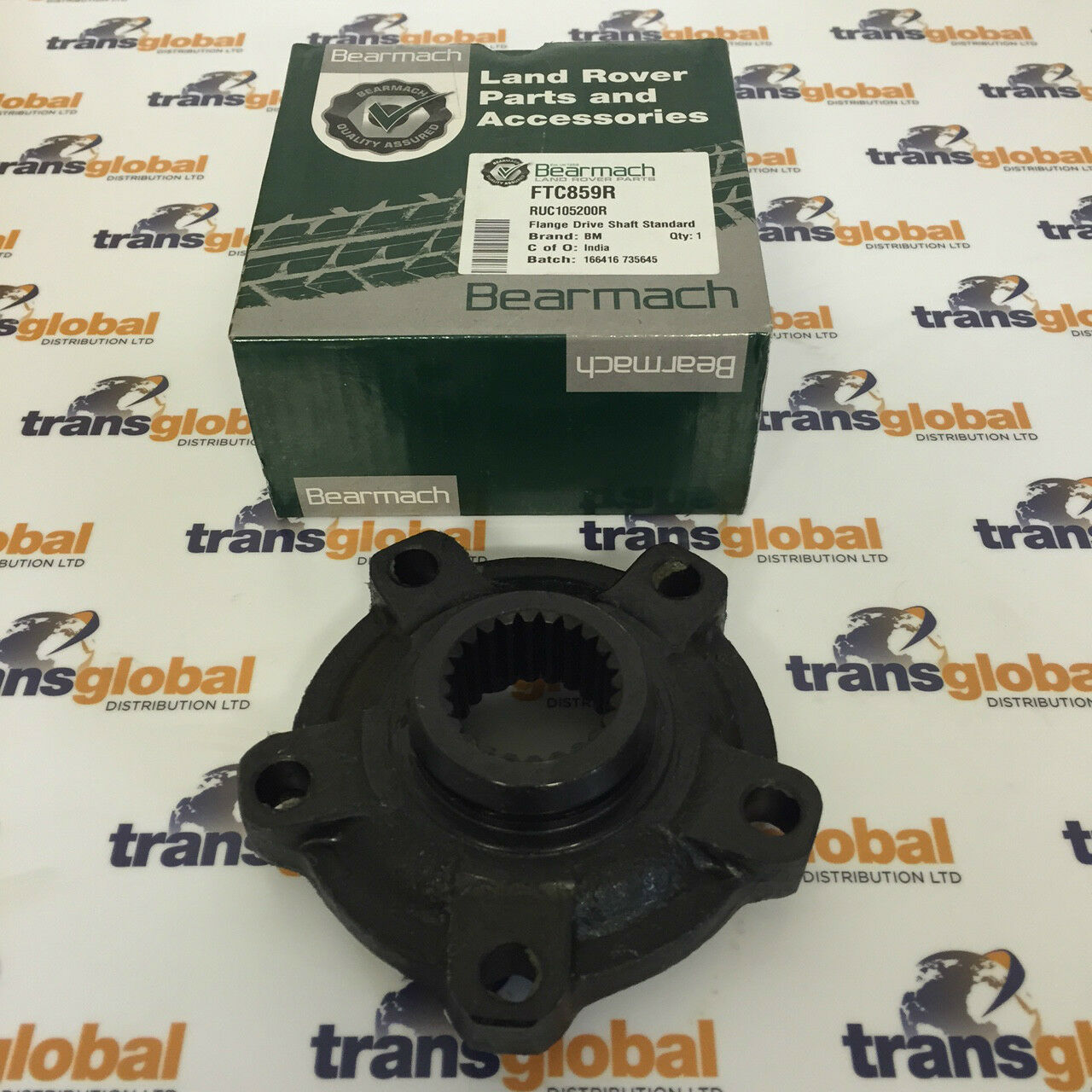 Rover 75 //// MG ZT Right Side Front Hub Part #: RUB101920 Carrier /& Back Plate