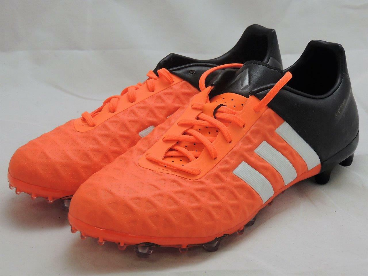 ADIDAS Ace  FG/AG Soccer Cleats Orange/Black S83254 Size 8