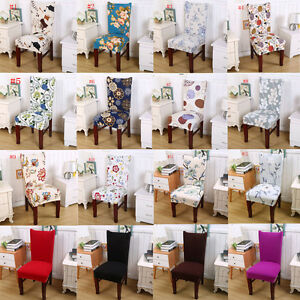 Stretch Dining Chair Covers Elasti Chair Protector Slipcover Decor High Quality
