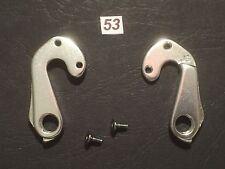 #53 Posteriore Deragliatore Mech Gear Hanger in alto Drop Out bullone di montaggio incluso
