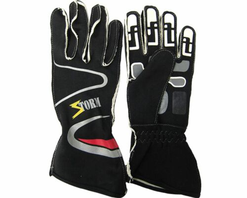 Racing Gloves in Black Good Quality Size Small Go Kart Karting Race Racing