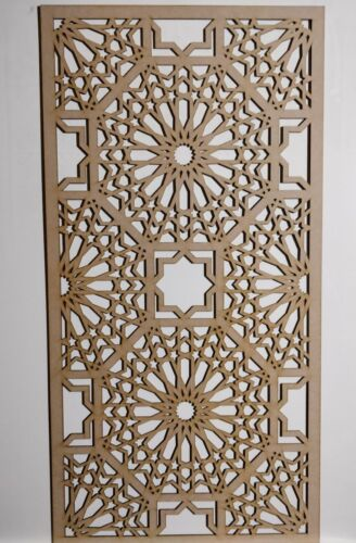 RADIATORE Armadietto Decorativa screening perforato 3mm /& 6mm spessore MDF Laser Cut M