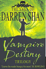 The Saga of Darren Shan - Vampire Destiny Trilogy, Darren Shan, Very Good Book