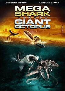 Mega Shark vs. Giant Octopus (DVD, 2009, Retail Exclusive) Lorenzo Lamas