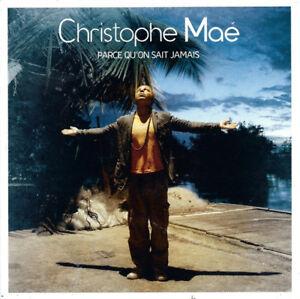 Christophe-Mae-CD-Single-Parce-Qu-039-on-Sait-Jamais-France-EX-EX