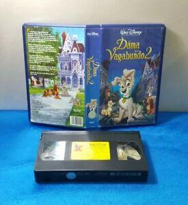 PELICULA-VHS-CINTA-VINTAGE-ESPANOL-LA-DAMA-Y-EL-VAGABUNDO-2