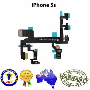 POWER-MUTE-VOLUME-BUTTON-SWITCH-FLEX-CABLE-RIBBON-for-iPhone-5S