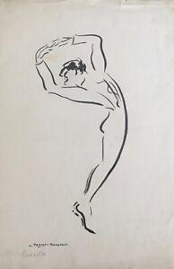 Lucienne-Pageot-Rousseaux-Drawing-Original-Ink-Luisillo-1