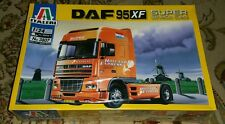 New 1/24 Italeri Dutch DAF 95XF Super Space Cab Semi Truck Model Kit 3807