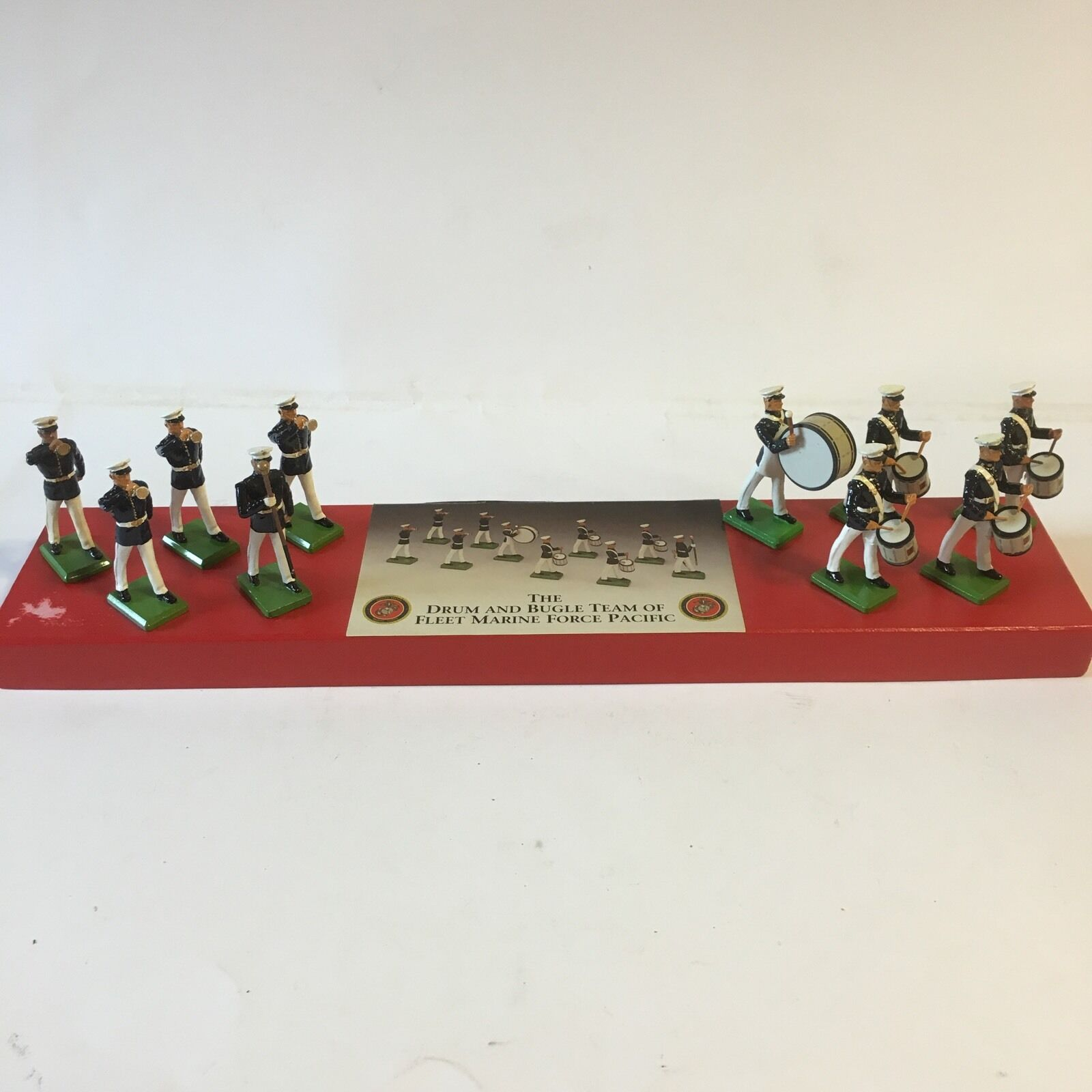 Britains The Drum and Bugle Team of Fleet Marine Force Pacific Boxad