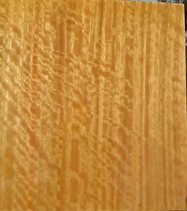 """Australian Eucalyptus Figured wood veneer 6"""" x 25"""" raw veneer with no backing"""