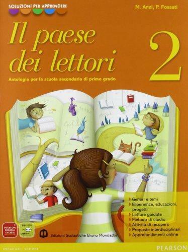 Libro scolastico IL PAESE DEI LETTORI 2 ISBN 9788842415787 + volume aggiuntivo