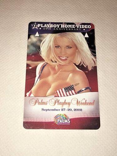 Palms Las Vegas Playboy Weekend Hotel Room Key Card Sept 27-29, 2002