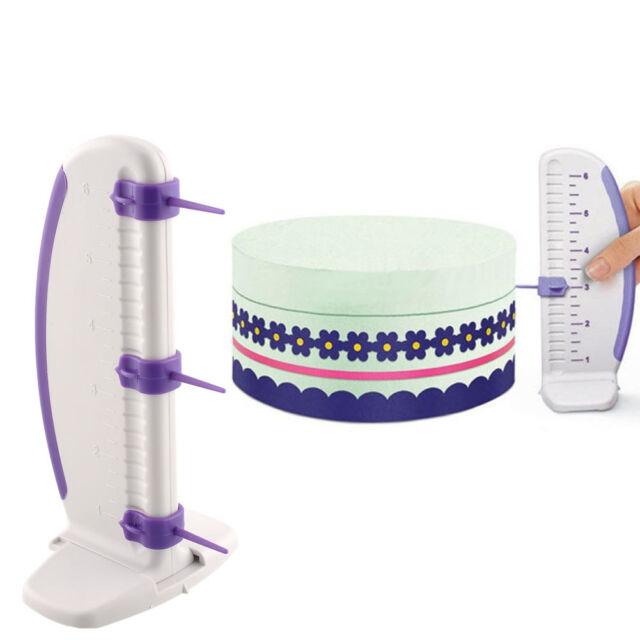 Cake Level Ruler Marker Cake Decorator Border Tool Section Measurement