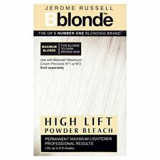 3 X Jerome Russell Bblonde Powder Bleach High Lift
