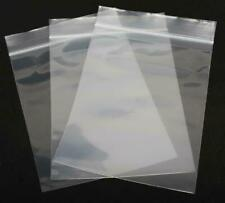 100 200 500 1000 12x15 Clear Plastic Zipper Poly Locking Reclosable Bags 2 Mil