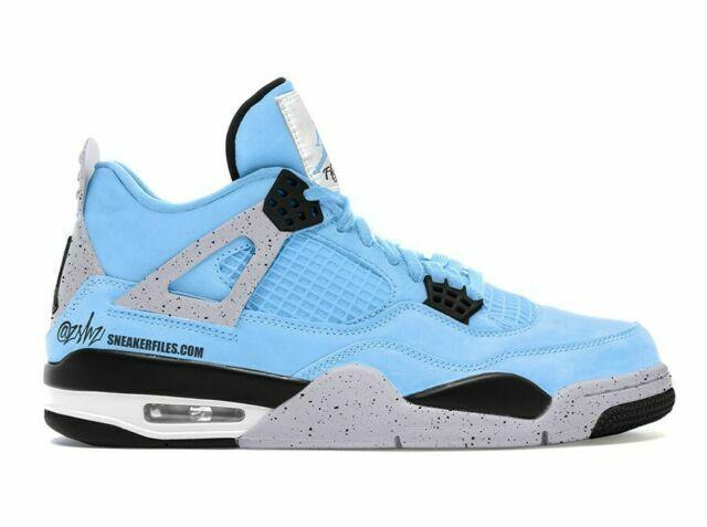 Size 12 - Jordan 4 Retro University Blue 2021