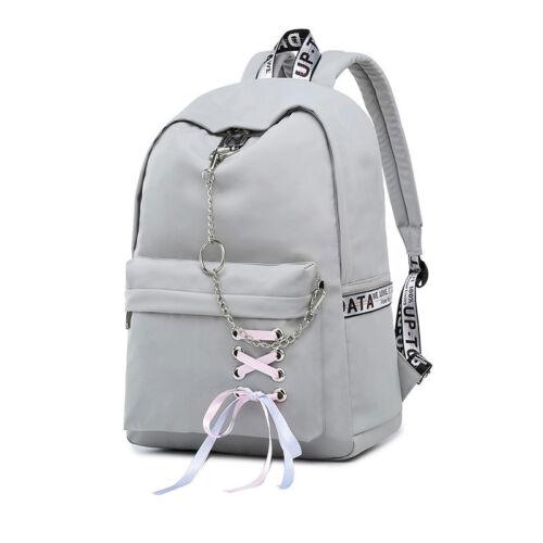 Fashion Waterproof Nylon Women Backpack Korean Girls School Bag Bookbags Bagpack