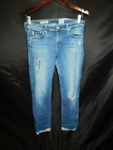 AG-Adriano-Goldschmied-Size-27-The-Stilt-Roll-Up-Cigarette-Skinny-Jeans-Ankle