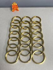 Brass O Rings 2 34 Od 2 38 Id Lot Of 21 Rings No Box