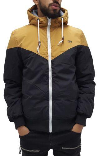 Cole B//T tempo è denaro Giacca uomo di marca imbottito con cappuccio Parka inverno caldo,
