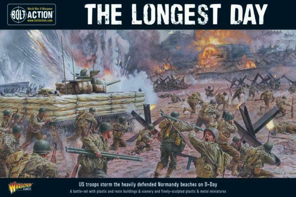 The Longest Day, D-Day Set Battaglia - Bolt Action - Warlord Games