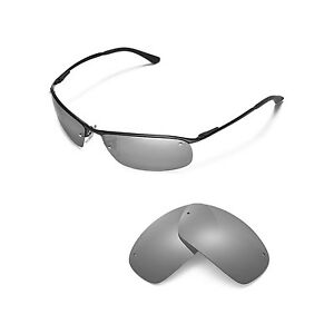 72a4543312 Image is loading New-Walleva-Polarized-Titanium-Replacement-For-Ray-Ban-
