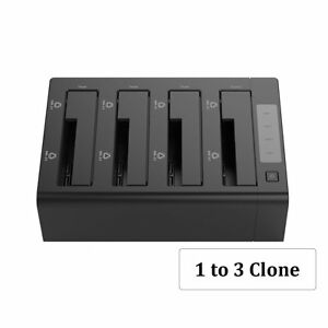 Details about ORICO 4- Bay USB 3 0 Hard Drive Caddy Clone Docking Station  for 2 5