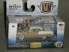 M2 Machines AutoThentics 1955 Chevrolet 210 Hardtop 235 R26-1:64 Lt Blue//white