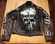 Mens Icon Domain Decay Hooligan Motorcycle Jacket Medium