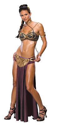 Princess Leia Slave Costume Sexy Bikini Secret Wishes Adult Return