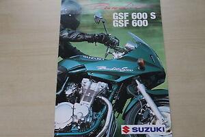 Verantwortlich 170018 Prospekt 200? Schrumpffrei Suzuki Gsf 600 600 S Bandit Österreich